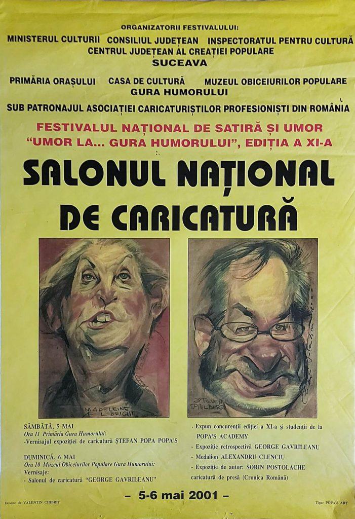 Editia 11 – 2001